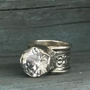 SILPADA Queen for a Day Ring Size 7